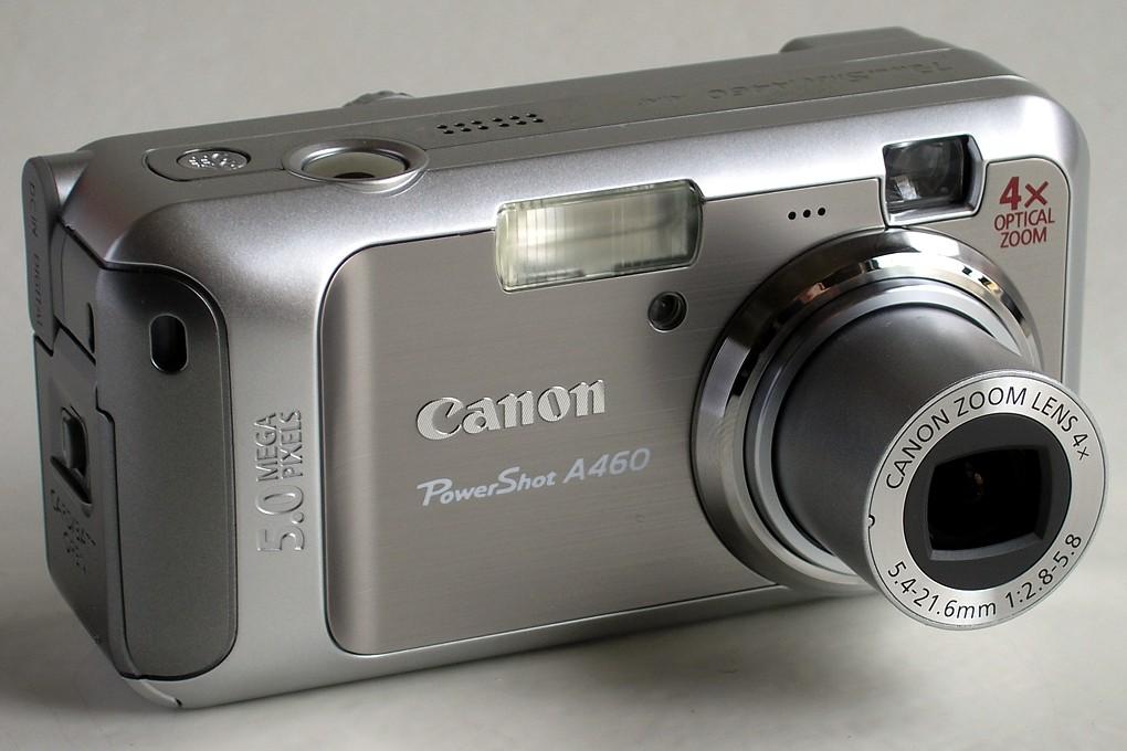 wrotniak net canon powershot a460 digital camera user report rh wrotniak net Canon EOS D60 Canon EOS D60